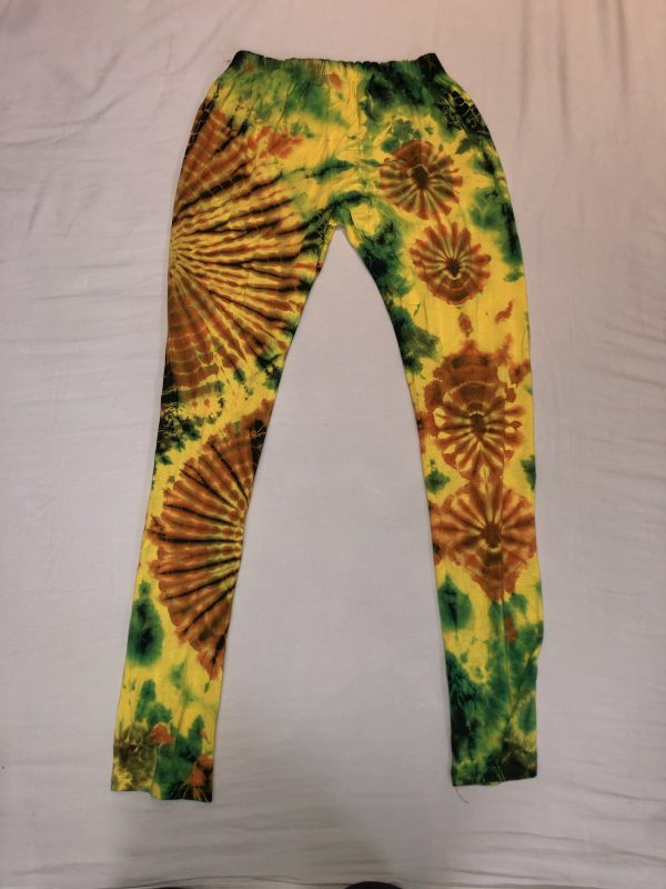 Tie Die Yellow, Red and Green